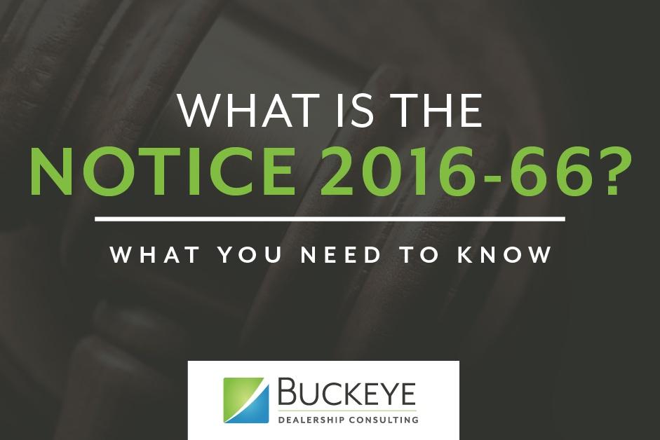 IRS Notice 2016-66