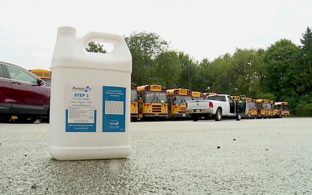 Buckeye teams up with local auto dealer Chris Haus to disinfect school busses